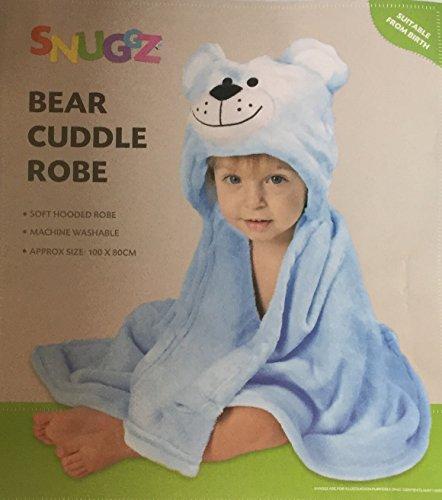 Kids Baby toalla de baño oso Cuddle Robe