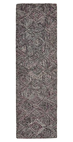 Rivet Motion  Patterned Wool Runner, 2'3