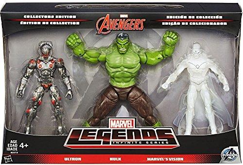 Marvel Avengers Marvel Legends Avengers Infinite Series 1 Ultron, Hulk & Marvel's Vision 6
