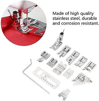 13pcs prensatelas de coser pies multifuncional máquina de coser ...