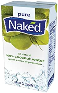 Naked Juice 100% Organic Pure Coconut Water 12 Pack - As