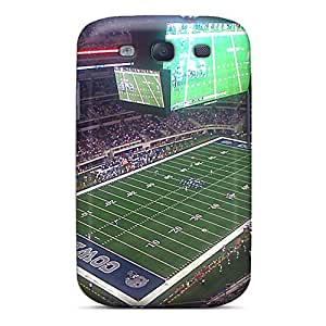 Scratch Protection Cell-phone Hard Covers For Samsung Galaxy S3 (Oqp14123qleT) Customized Colorful Dallas Cowboys Image