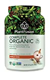 PlantFusion Complete Organic Plant Based Protein & Fermented Foods Powder, Vanilla Chai, 2 lb Tub, 30 Servings, 1 Count, USDA Organic, Vegan, Gluten Free, Packaging May Vary For Sale