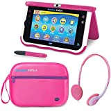 VTech InnoTab MAX with Headphones and Carrying Case Bundle - Pink