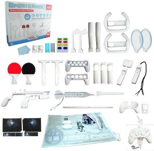 SATKIT Wii motion plus 100in1 sports pack: Amazon.es: Videojuegos