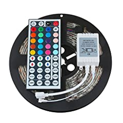 ✔Features:  ✔Input/Output: DC 12V  ✔Output Power: 0.2w/led 60w/300leds  ✔Working Current/5Meter: 5A  ✔Working Temperature: -20°C-60°C  ✔Superbright 5050 SMD top LED, high intensity and reliability.  ✔Long life span 50,000+ hours  ✔IP65 Waterp...
