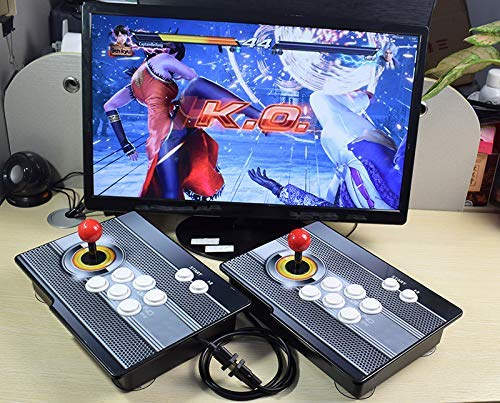 PinPle Arcade Game Console 1080P 3D & 2D Games 2020 in 1 Pandora's Box Kit Classic Arcade Game Machine 2 Players Arcade Machine Arcade Joystick Support Expand 6000+ Games for King of Fighters by PinPle (Image #8)
