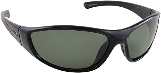 Sea Striker Pursuit Polarized Sunglasses with Black Frame and Grey Lens Fits Medium to Large Faces