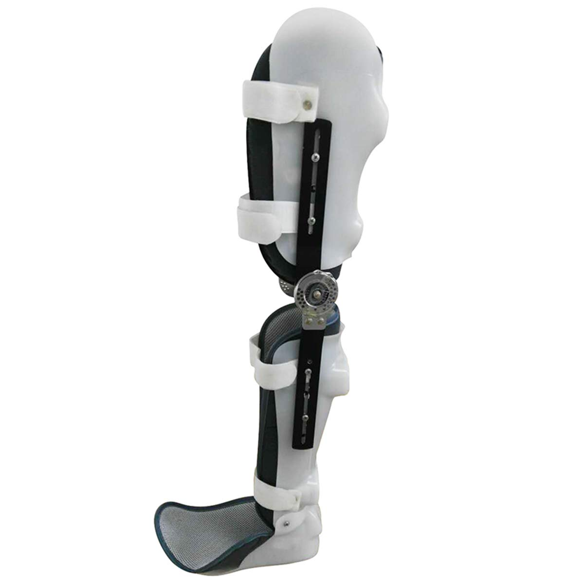 FULI Adjustable Knee Joint Brace, Support Thigh, Calf Ankle Joint Protection, postoperative Fracture Rehabilitation Equipment (Right)
