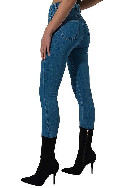 Amazon.com: AKIRA - Pantalones vaqueros para mujer, estilo ...