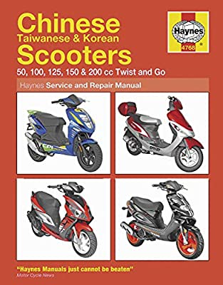 Haynes Manuals N/Amanual Chinese Scooters 04 09 M4768 New