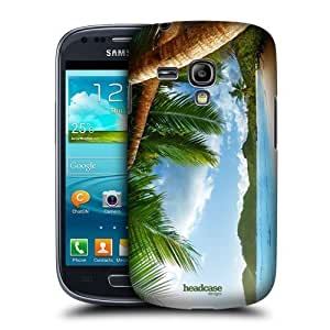 AIYAYA Samsung Case Designs Anse Takamaka Seychelles Beautiful Beaches Protective Snap-on Hard Back Case Cover for Samsung Galaxy S3 III mini I8190 Kimberly Kurzendoerfer