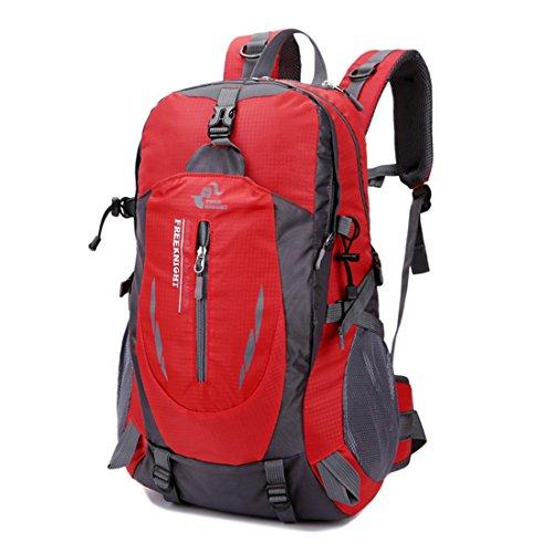 à Dos Portable Ordinateur Les imperméable Nylon Sac Loisirs en pour Dunland Dos alpinisme Sac Scolaire 40L Rouge PC Homme grande capacité Imperméable Affaire a Portable PEq5Cnpwx