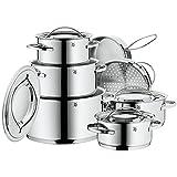 WMF 07 1112 6040 Gala II Cookware Set, Silver
