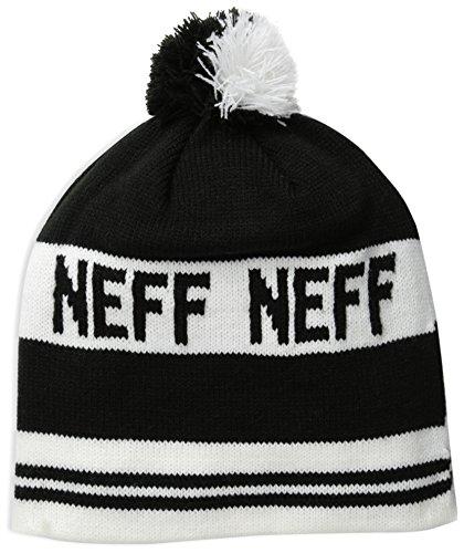 negro blanco Neff hombre blanco negro para única esquí color Classic Talla de Mütze Gorro talla OSF4O