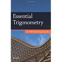 Amazon trigonometry mathematics books essential trigonometry a self teaching guide fandeluxe Choice Image