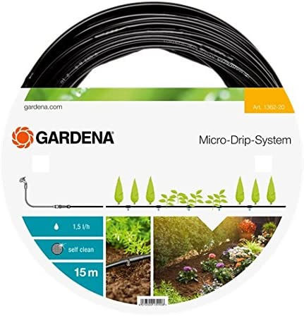 Gardena 01362-20 Tubo, Negro