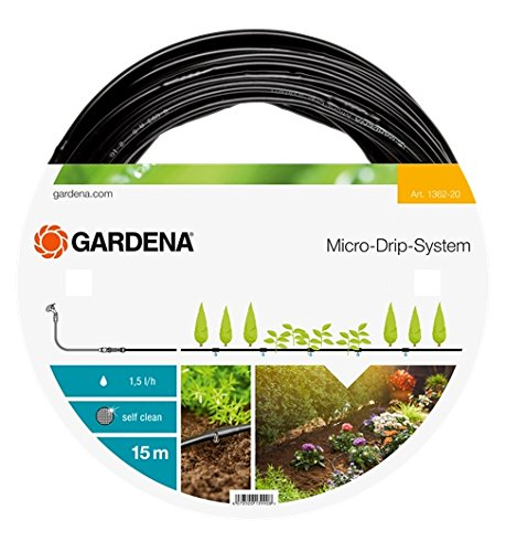 Gardena Above Ground Drip Irrigation Line Micro-Drip-System 3/16
