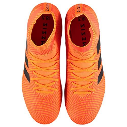 Calcio Nemeziz Uomo Adidas Scarpe 18 Da Battuta Terra 3 Tacchetti Arancione Su 1HgdBXnqg