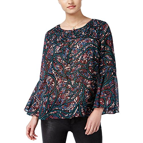 Jessica Floral Blouse - Jessica Simpson Floral Peasant Top Small