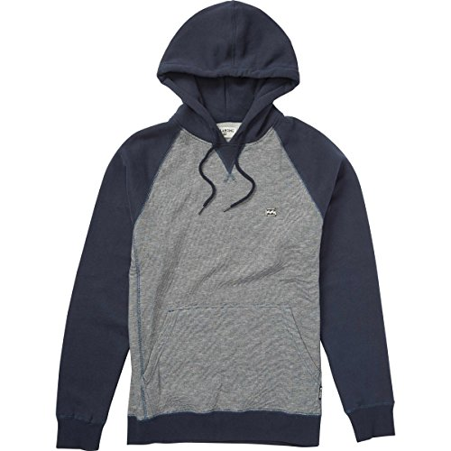 Embroidery Navy Blue Hoodie - 5