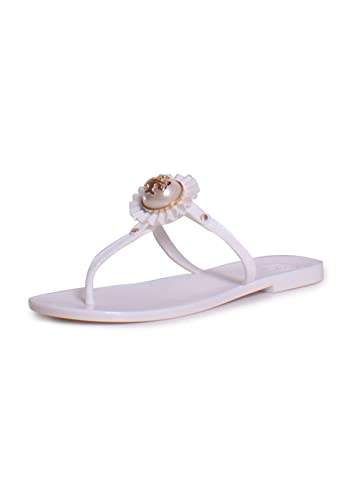 53335000d9bf Amazon.com  Tory Burch Melody Plastic Thong Sandal  Shoes