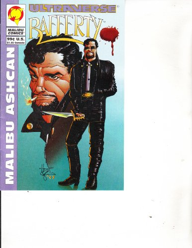 Rafferty Ultraverse Malibu Ashcan Mini Comic Book November 1994