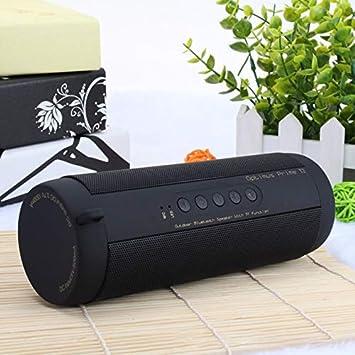 Bluetooth Music Bass Speaker Impermeable Portátil al Aire Libre ...