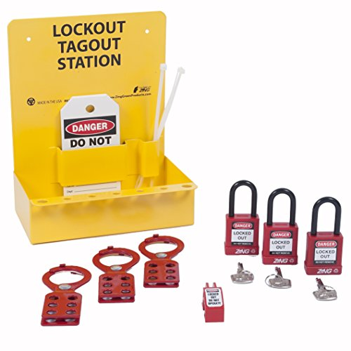 ZING 6063 RecycLockout Mini Lockout Station - Stocked