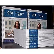 Schweser CFA 2015 Exam Prep & Study Materials for the CFA Exam Level III