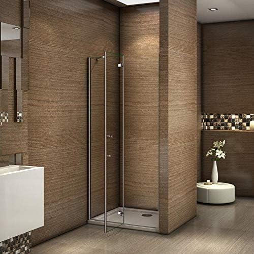 100x185cm Mamparas ducha pantalla de baño 6mm Easyclean vidrio templado de Aica: Amazon.es: Bricolaje y herramientas