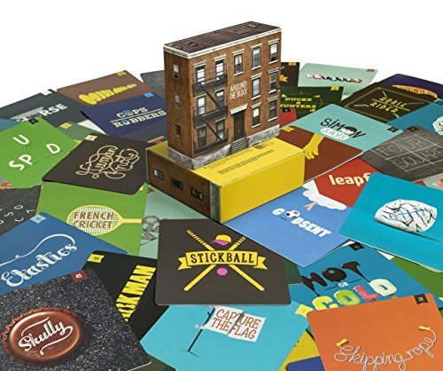 Outdoor games collection - 55 game cards from past generations to the next: Around the Block
