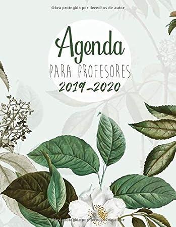 Agenda Para Profesores 2019 - 2020: Agendas Escolares para Profesores - Cuaderno del Profesor y Agenda 2019 - 2020 | Práctico Organizador para ...