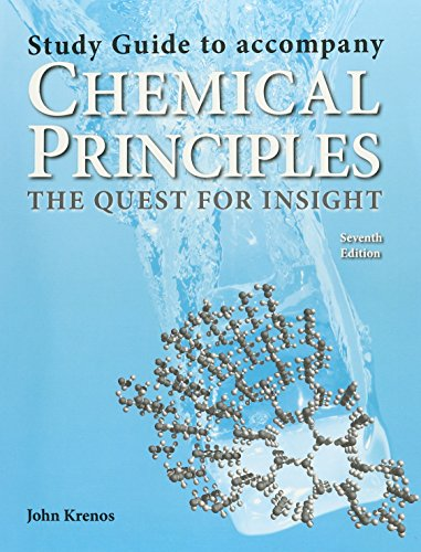 Study Guide For Atkin's Chemical Principles