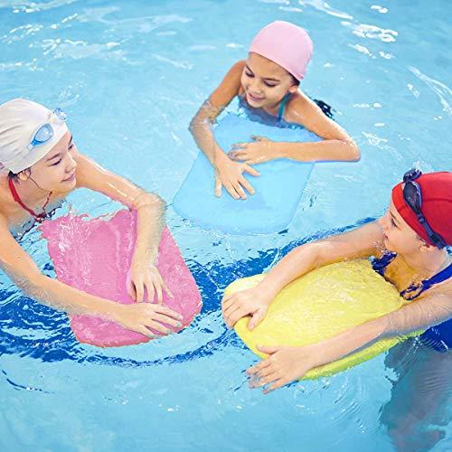 VERISA Swim Training Kickboard, Lightweight Foam Swim Board, Swimming Pool Equipment Aid for Adults and Kids, Pink