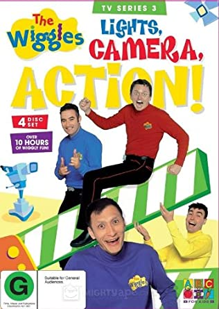 Amazon com: The Wiggles - Series 3: Lights, Camera, Action