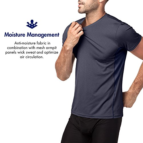 shirt Uomo Cupro M15 T Sport Lapasa Performance Tecnologia Antiodore – Navy Running Palestra xRwTWZZgEq