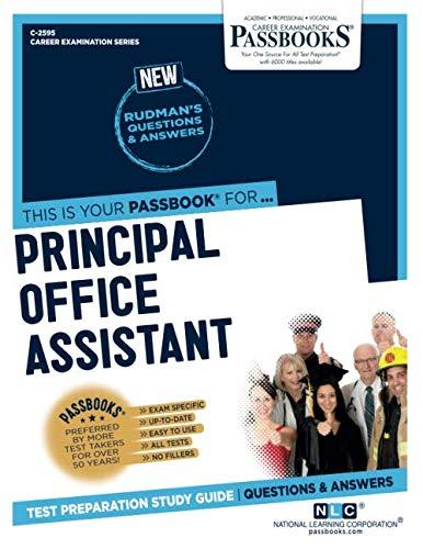 Principal Office Assistant (Career Examination Series)