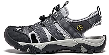 Atika At-w107-kgy_women 8 B(f) Women's Sports Sandals Trail Outdoor Water Shoes 3layer Toecap W107 5