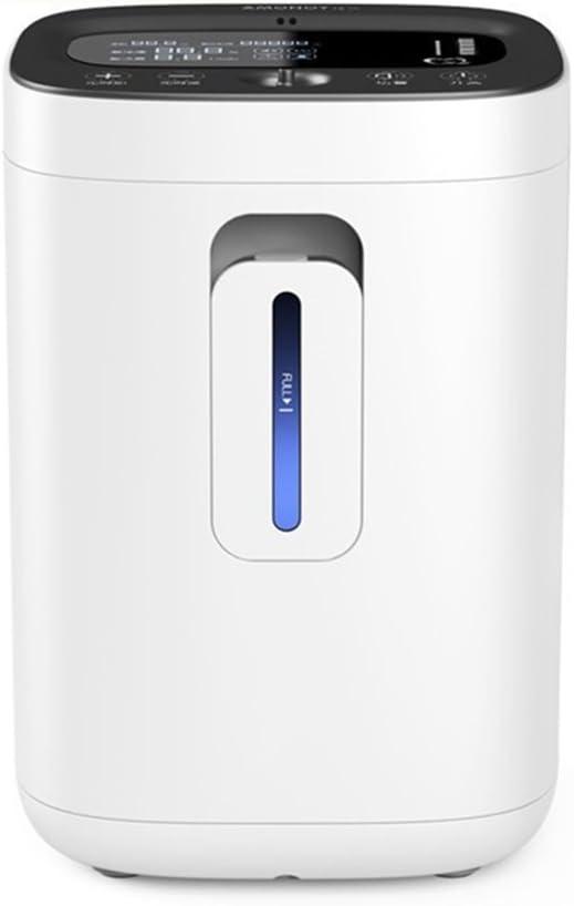 YONG FEI Concentrador de oxígeno: concentrador de oxígeno portátil para el hogar Purificador de Aire 93% Generador de oxígeno de Alta pureza 230V 240V Terapia de ...