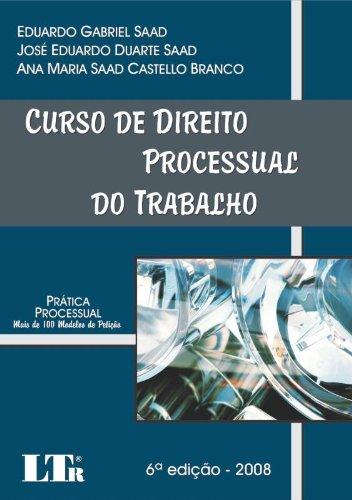Read Online Curso De Direito Processual Do Trabalho ebook