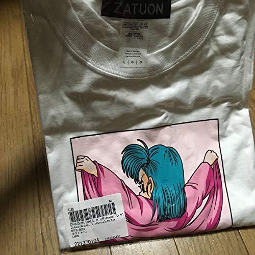 ZATUON offshore ドラゴンボール コラボ ブルマ ザツオン オフショア Tシャツ ロンT ホワイト L