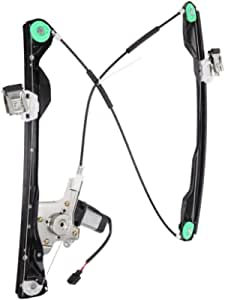 A-Premium Power Window Regulator with Motor Compatible with Ford Focus 2000-2007 Front Driver Side