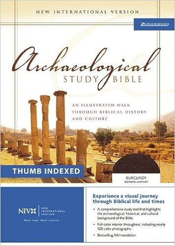 Niv Archaeological Study Bible