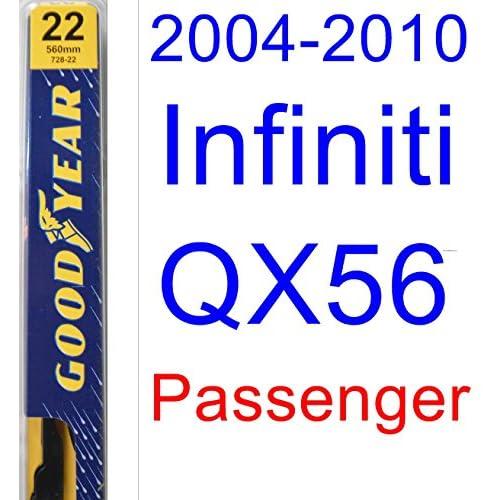 2004-2010 Infiniti QX56 Wiper Blade (Passenger) (Goodyear Wiper Blades-Premium) (2005,2006,2007,2008,2009) hot sale