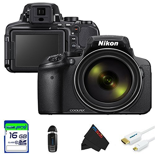 Cheap Nikon COOLPIX P900 Digital Camera with 83x Optical Zoom and Built-In Wi-Fi (Black)