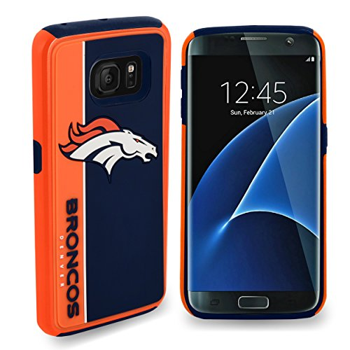 Forever Collectibles Dual Hybrid BOLD Series Case for Samsung Galaxy S7 Edge - NFL Denver Broncos from Forever Collectibles