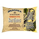 Brunswick Canadian Style Sardines in Soya Oil (106g) - Pack of 6