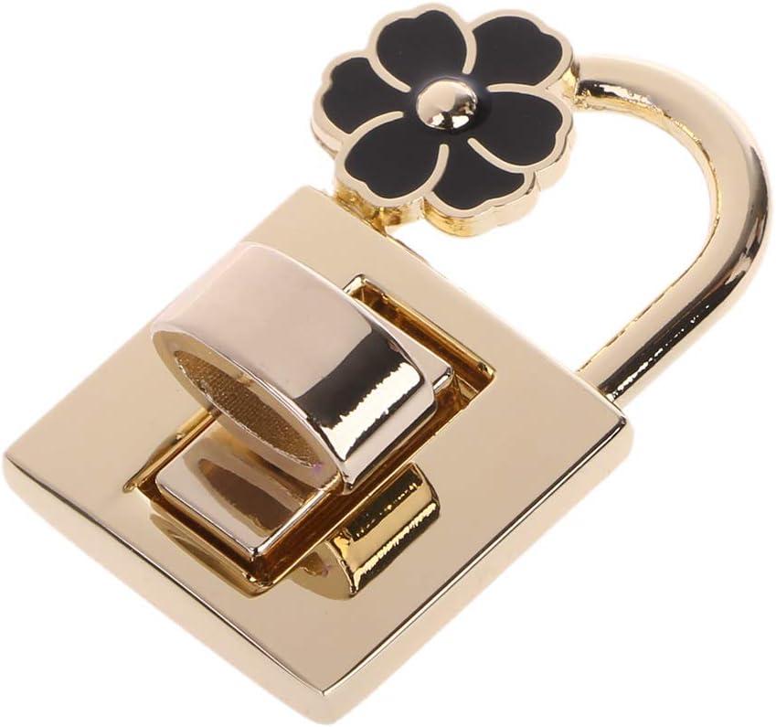 Ogquaton V Shape Clasp Turn Lock Twist Locks Metal Hardware for DIY Handbag Bag Purse Premium Quality