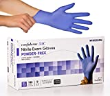 McKesson Confiderm 3.5C Nitrile Latex-Free XL Exam Gloves, X-Large, Chemo Tested, Powder-Free, 180/BX (CASE OF 10)